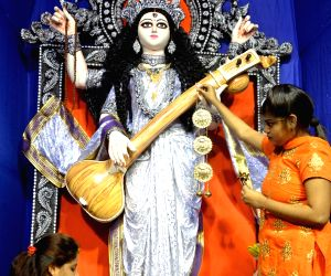 Saraswati Puja celebrations