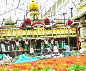 Independence Day Flower Show - Preparations