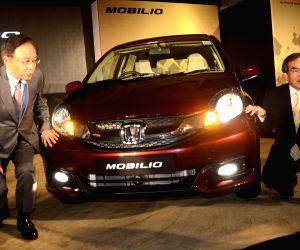 Mumbai : Newly launched Honda Mobilio