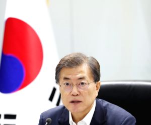 Moon chairs NSC meeting over N. Korea's missile launch