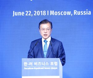 Russia, S.Korea pledge to develop cooperation