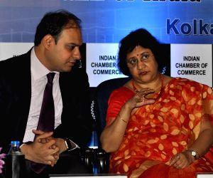 SBI Chairman Arundhati Bhattacharya at Indian Chamber of commerce