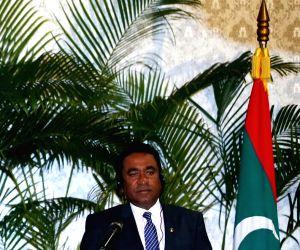 File Photo: Maldivian President Abdulla Yameen Abdul Gayoom