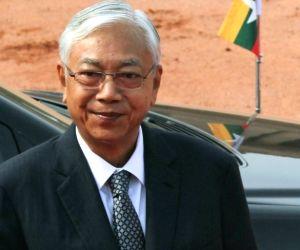 File Photo: President of Myanmar Htin Kyaw