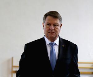 File Photo: President of Romania Klaus Iohannis