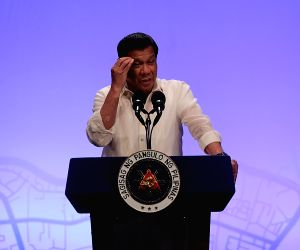 File Photo: President of the Philippines Rodrigo Duterte