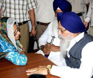 SGPC President meets Navneet Bhullar