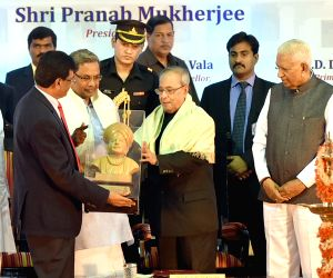 Mysore University's centenary celebration - Pranab Mukarjee
