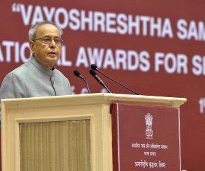 "Vayoshreshtha Samman"" - national award for senior citizens"