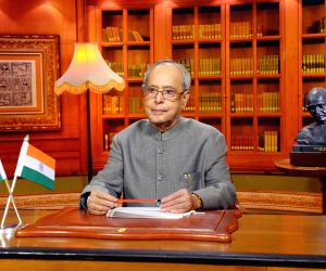 President Mukherjee addresses to the nation