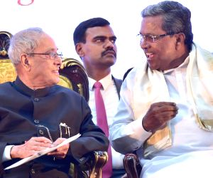 "President Mukherjee lays foundation stone of ""Bengaluru Dr. B. R Ambedkar School of Economics"