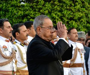 'At Home' - 68th Independence Day - President Mukherjee