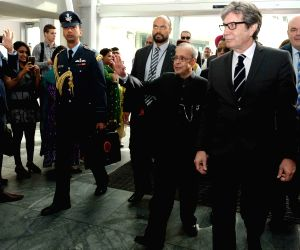 President Mukherjee visits Auckland University of Technology