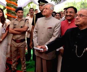 President Mukherjee inaugurates Ashiana Annexe