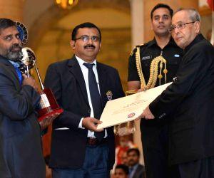 Indira Gandhi National Service Scheme Awards ceremony