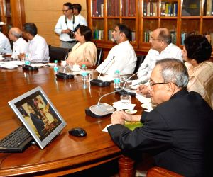 New Delhi: President of India's newly designed website launched
