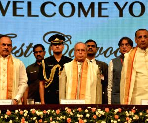 First convocation of The English & Foreign Languages University  - President Mukherjee