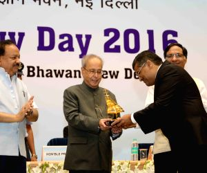 President Mukherjee during the National Technology Day celebrations