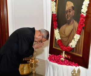 (230114) New Delhi : Netaji's 118th birth anniversary