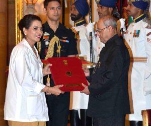 National Florence Nightingale Awards - President Mukherjee