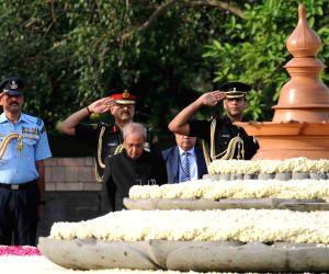 Former Prime Minister Rajiv Gandhi's  28th death anniversary