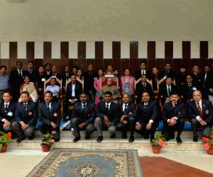 President Mukherjee at Himalayan Mountaineering Institute