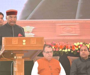 Himachal Govt. hosts civic reception for President Kovind