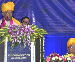 President Kovind at the 27th convocation of Dr. Harisingh Gour Vishwavidyalaya