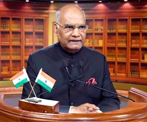 President Kovind addresses on the eve of 69th Republic Day