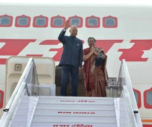 President Kovind departs for state visit to Vietnam and Australia
