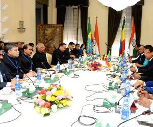 India - Ethiopia delegation level talks