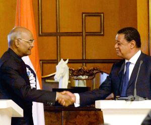 Addis Ababa (Ethiopia): President Kovind's press statement