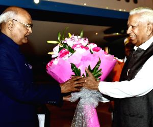 President Kovind at HAL Airport