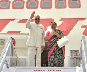 President Ram Nath Kovind departs for his state visit to Greece, Suriname and Cuba
