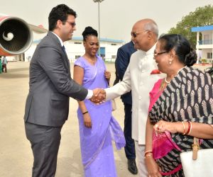 President Kovind leaves on three-nation visit to Greece, Suriname, Cuba