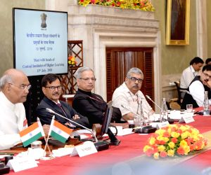 President Kovind meets heads of Central Institutes of Higher Learning