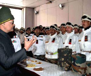 President Kovind visits Siachen