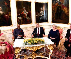 Prague (Czech Republic): President Ram Nath Kovind at Czech Republic