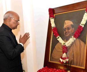 Netaji Subhas Chandra Bose birth anniversary - President Kovind pays tribute