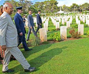 President Kovind visits Phaleron Commonwealth War Cemetery
