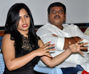 Press meet of Telugu film Kakatiyudu