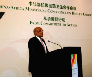 SOUTH AFRICA PRETORIA CHINA AFRICA HEALTH COOPERATION MINISTERIAL CONFERENCE