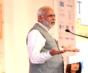 PM Modi addresses at HT Leadership Summit 2017