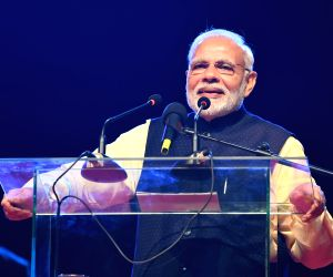 Kampala (Uganda): PM Modi at Indian Community event
