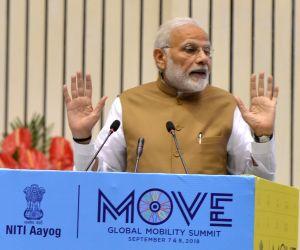 Modi at 'MOVE: Global Mobility Summit