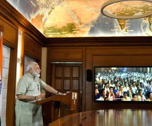 Modi addresses the Centenary Celebrations of Bharat Sevashram Sangha