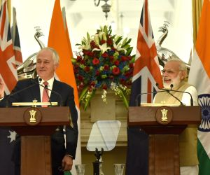 Modi-Turnbull  Joint Press Conference