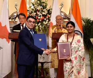 India, Cyprus signs agreements