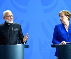 Modi-Merkel Joint Press Statements