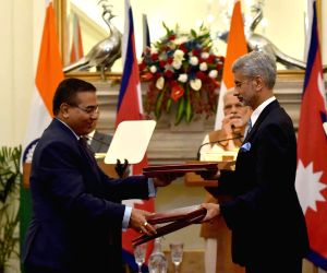 India-Nepal ink agreements